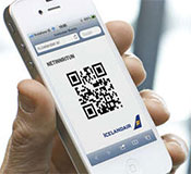Mobile boarding pass sample
